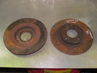 Immagine di Set dischi freno anteriore Citroen Bx de 1986 a 1994