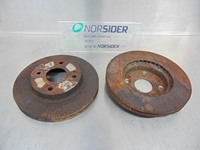 Picture of Front Brake Discs Mazda Demio from 1998 to 2000
