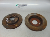 Picture of Front Brake Discs Ford Puma from 1997 to 2002