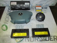 Picture of Airbags Set Kit Mercedes Classe CLK (208) from 1997 to 2002
