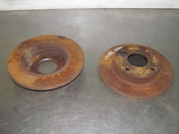 Picture of Front Brake Discs Mazda 121 from 1996 to 2000