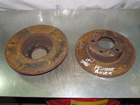Imagen de Juego de 2 discos de freno delantero Peugeot Boxer de 2000 a 2002