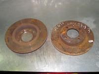 Imagen de Juego de 2 discos de freno delantero Volkswagen Vento de 1992 a 1998