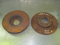 Imagen de Juego de 2 discos de freno delantero Fiat Tempra de 1990 a 1993