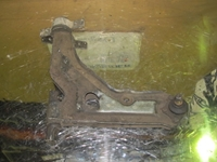 Picture of Front Axel Bottom Transversal Control Arm Front Left Saab 9000 de 1987 a 1992
