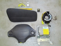 Picture of Airbags Set Kit Daihatsu Sirion from 1998 to 2002