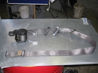 Picture of Front Right Seatbelt Hyundai Scoupe from 1991 to 1996
